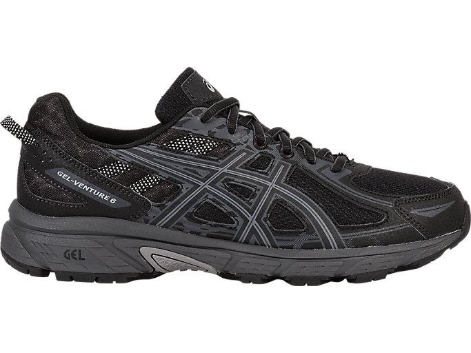 Men's GEL-Venture 6   Black/Phantom/Mid Grey   Trail Running   ASICS