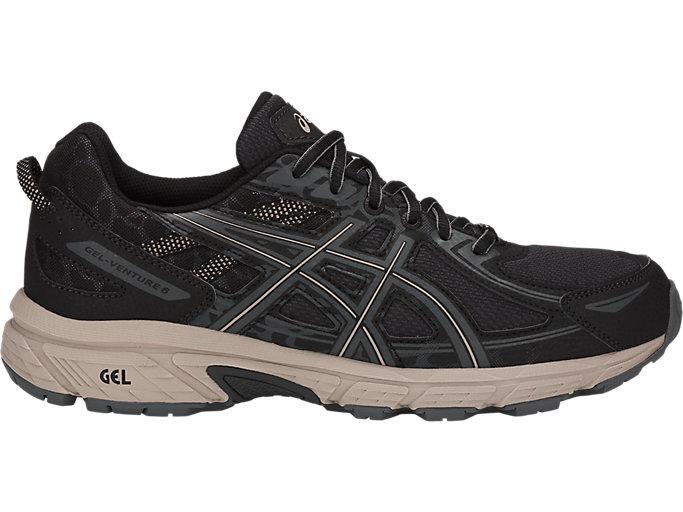 Men's GEL-Venture 6 | Black/Dark Grey/Feather Grey | Trail Running ...