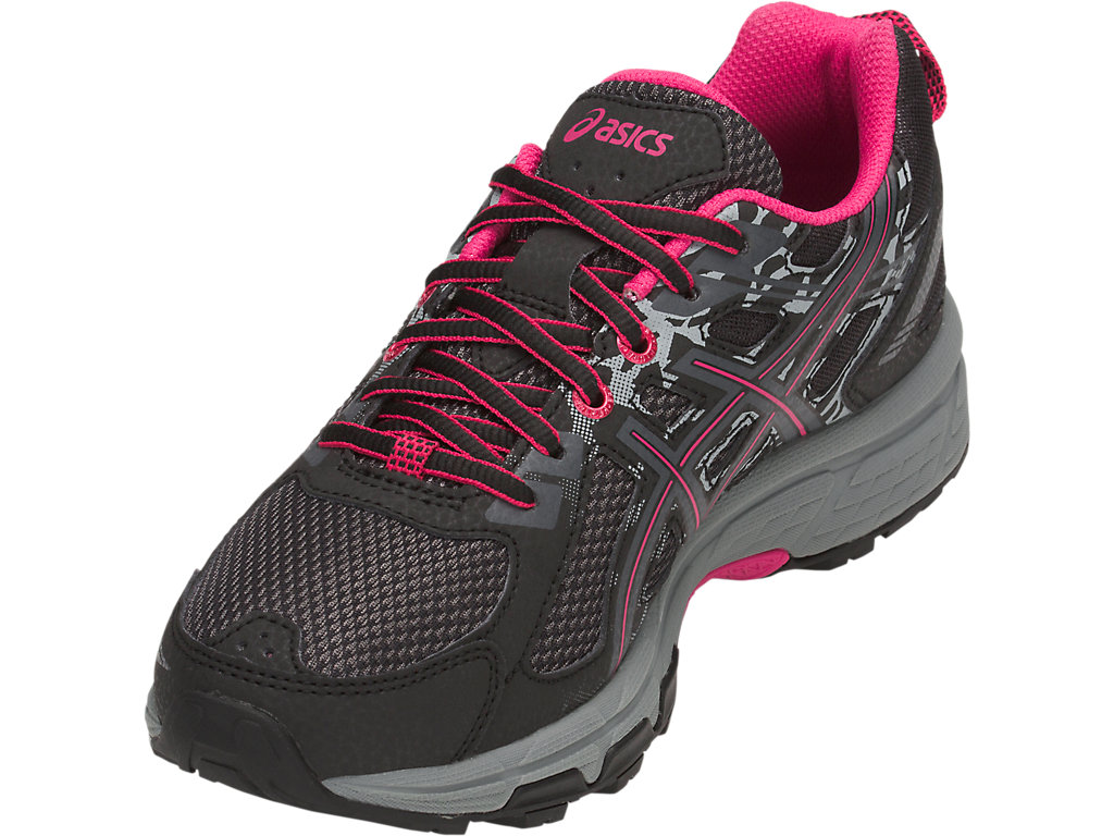 Women's GEL-Venture 6   Black/Pixel Pink   Trail Running   ASICS