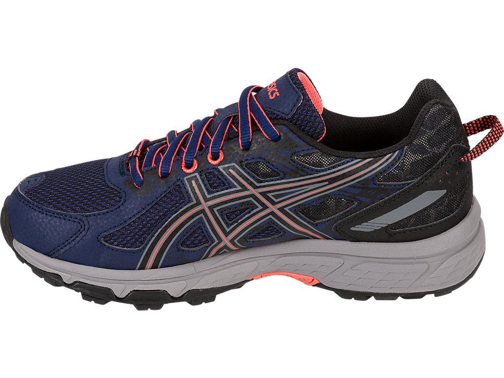 Women's GEL-Venture 6 | Indigo Blue/Black/Coral | Trail Running ...