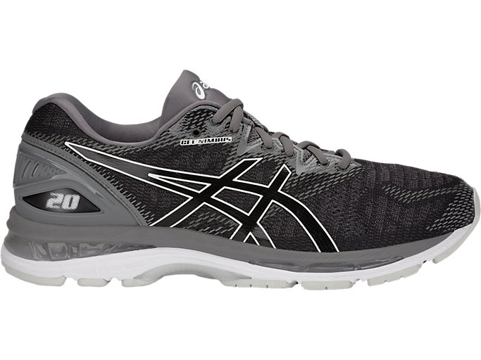 Men's GEL-NIMBUS 20 | BLACK/CARBON | Running | ASICS Outlet