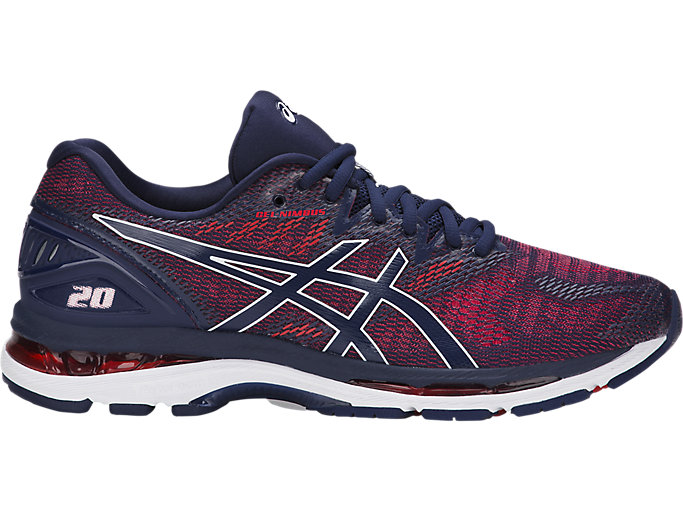 Alternative image view of GEL-NIMBUS 20, INDIGO BLUE/INDIGO BLUE/FIERY