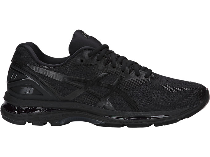 Men's GEL-NIMBUS 20 | BLACK/BLACK/CARBON | Running | ASICS ...