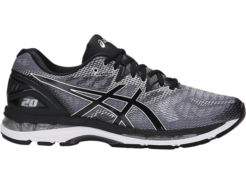 Men's GEL-Nimbus 20   Carbon/Black/Silver   Running Shoes   ASICS