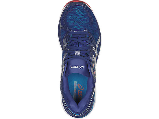 GEL-NIMBUS 20 (2E) BLUE PRINT/RACE BLUE