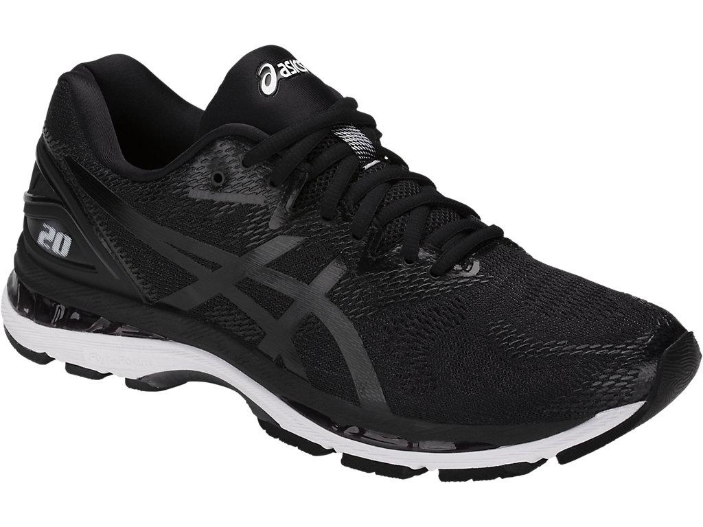 Men's GEL-Nimbus 20 (4E)   Carbon/Black/Silver   Running Shoes   ASICS