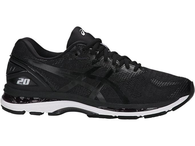 ramo de flores Rendición Centelleo  Men's GEL-Nimbus 20 (4E) | Carbon/Black/Silver | Running Shoes | ASICS
