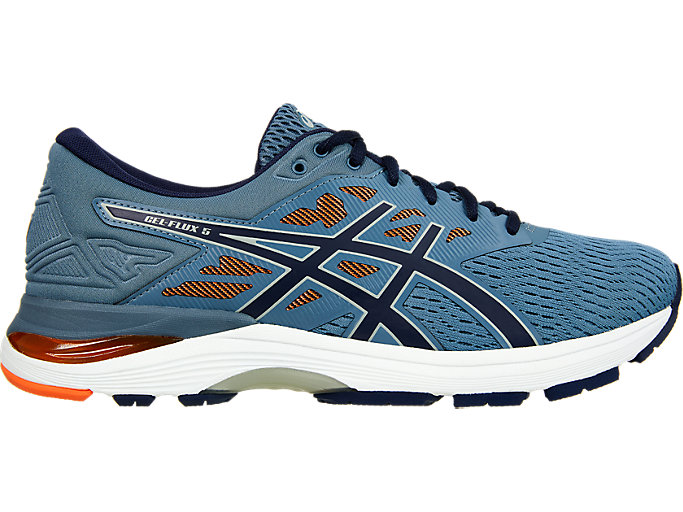 Unisex GEL-FLUX 5 | STEEL BLUE/PEACOAT | Running | ASICS Outlet