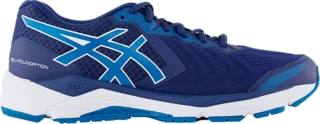 Blue   Wide fitting running shoes   ASICS
