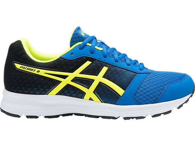 encuentro papi Canguro  Unisex PATRIOT 9 | VICTORIA BLUE/SAFETY YELLOW/BL | Neutral Shoes | ASICS