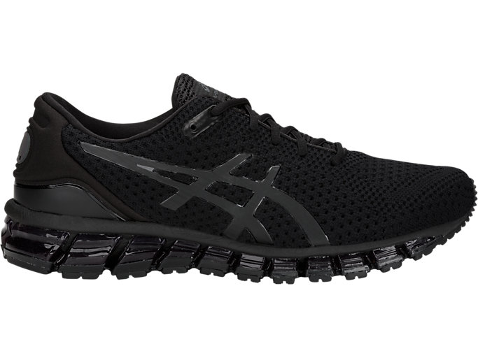 Right side view of GEL-QUANTUM 360 KNIT 2, BLACK/BLACK