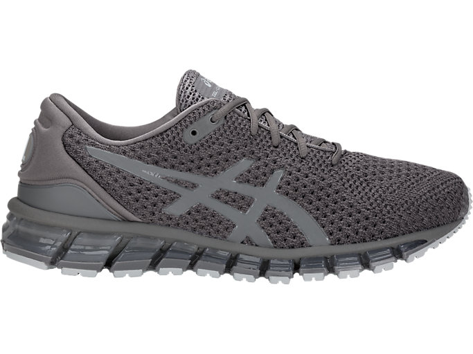 Right side view of GEL-QUANTUM 360 KNIT 2, CARBON/DARK GREY