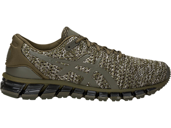 Alternative image view of GEL-QUANTUM 360 KNIT 2, DARK OLIVE/DARK OLIVE