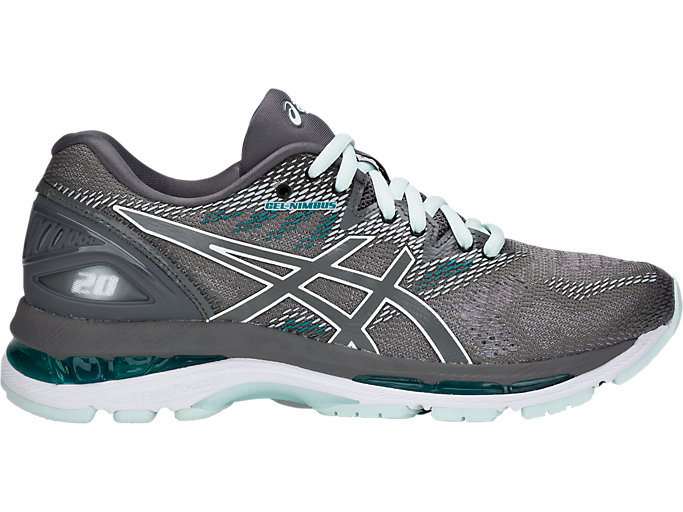 Women's GEL-NIMBUS 20 | CARBON/CARBON | Running | ASICS Outlet
