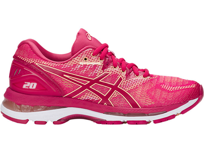 Women's GEL-NIMBUS 20 | BRIGHT ROSE/BRIGHT ROSE/APRICO ...
