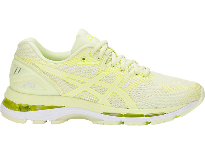 Women's GEL-NIMBUS 20 | LIMELIGHT/LIMELIGHT/SAFETY YEL ...