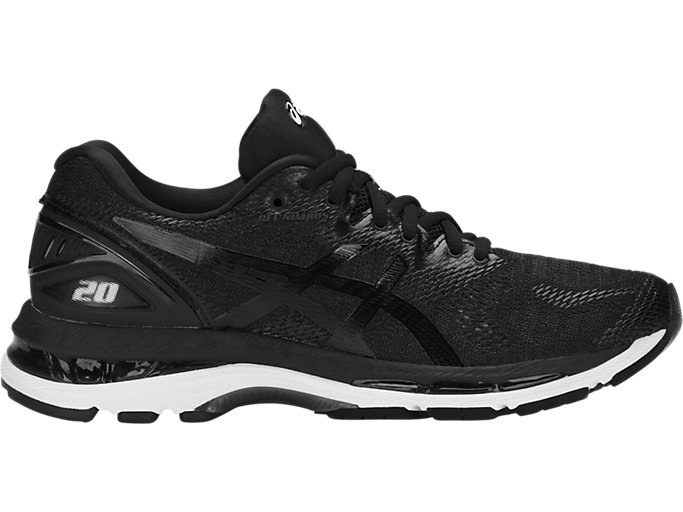 Women's GEL-NIMBUS 20 | BLACK/WHITE/CARBON | Running | ASICS ...