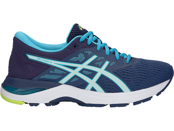 Women's GEL-Flux 5 | Blue Print/Soothing Sea | Running Shoes | ASICS