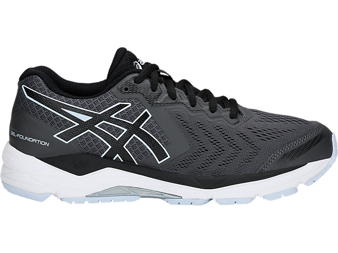 etc. saltar edificio  Women's GEL-FOUNDATION 13 | DARK GREY/BLACK | Running Shoes | ASICS