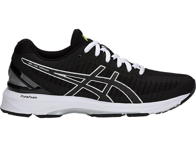 Right side view of GEL-DS TRAINER 23, BLACK/SILVER