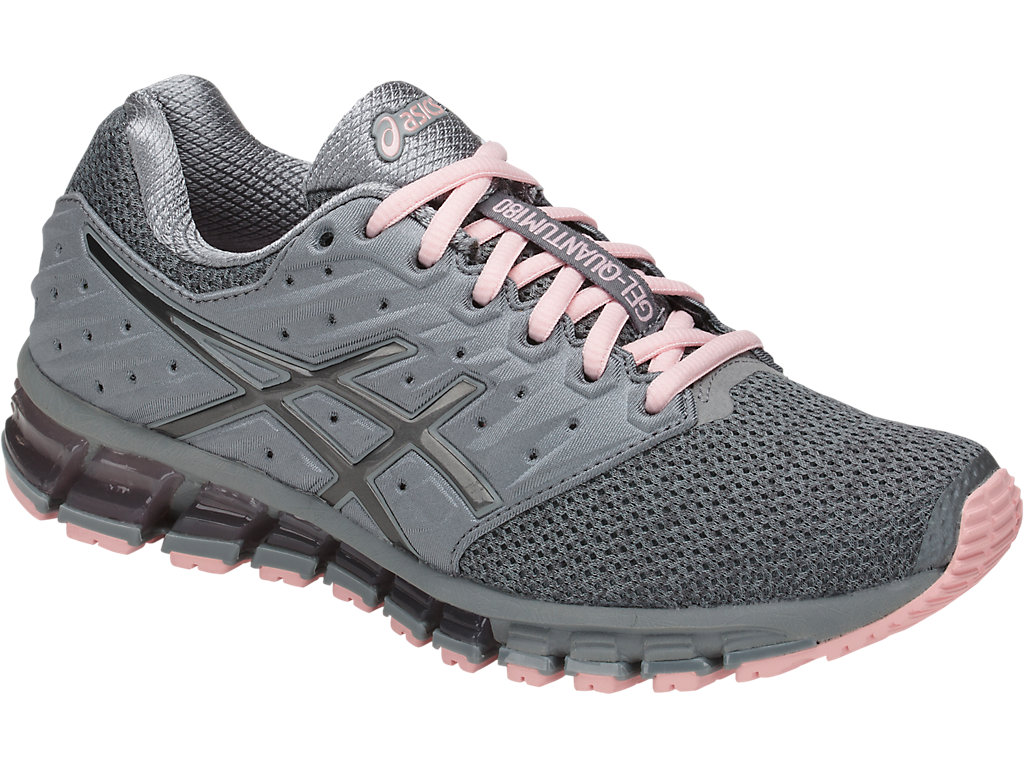 Women's GEL-Quantum 180 2 MX | Stone Grey/Carbon/Seashell Pink ...
