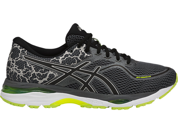Moderador Objetivo Insignia  Men's GEL-CUMULUS 19 LITE-SHOW | CARBON/BLACK/SAFETY YELLOW | Running |  ASICS Outlet