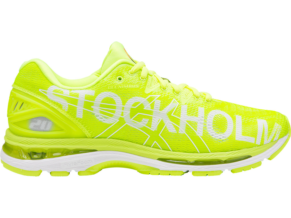 cómo Correlación tinción  Unisex GEL-NIMBUS 20 STOCKHOLM | STOCKHOLM/2018/FLASH YELLOW | Neutral Shoes  | ASICS
