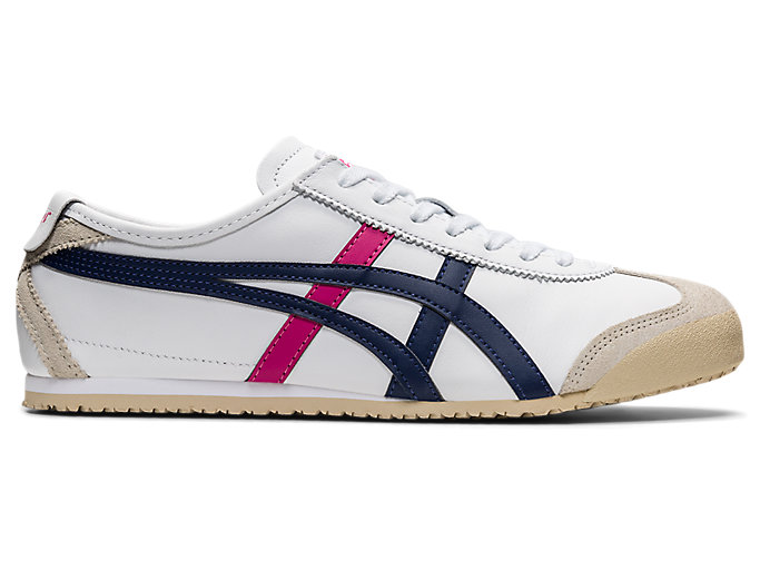 Alternative image view of MEXICO 66, White/Navy/Pink