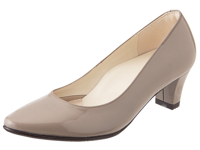 Right side view of ペダラ レディース 2E, TAUPE GREY