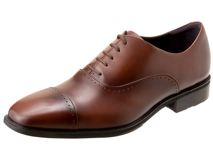 Right side view of ランウォーク メンズ 2E, BROWN