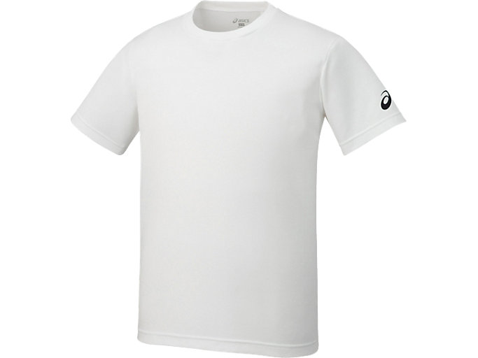Alternative image view of Tシャツ, ホワイトxブラツク