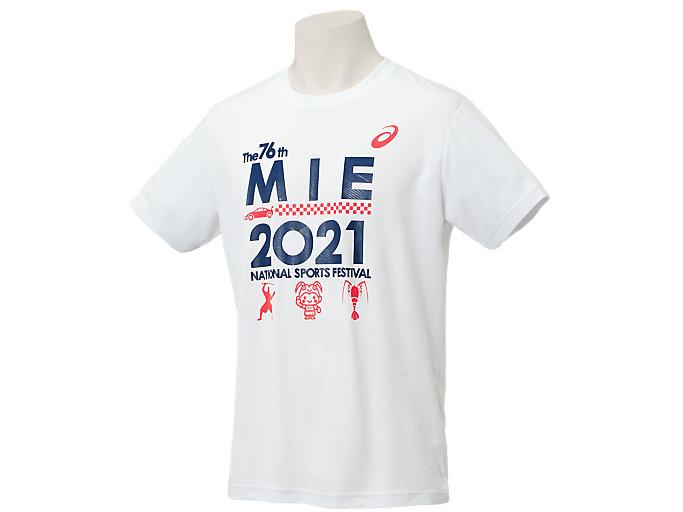 Alternative image view of 2021年三重国体記念Tシャツ, ブリリアントホワイト