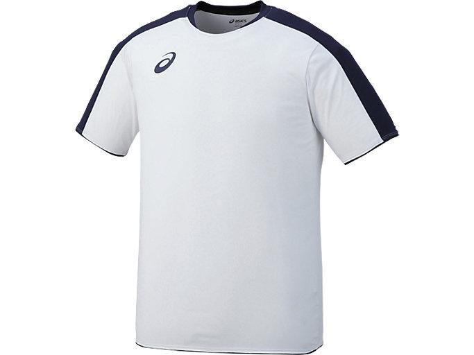Alternative image view of ゲームシャツHS, ホワイト