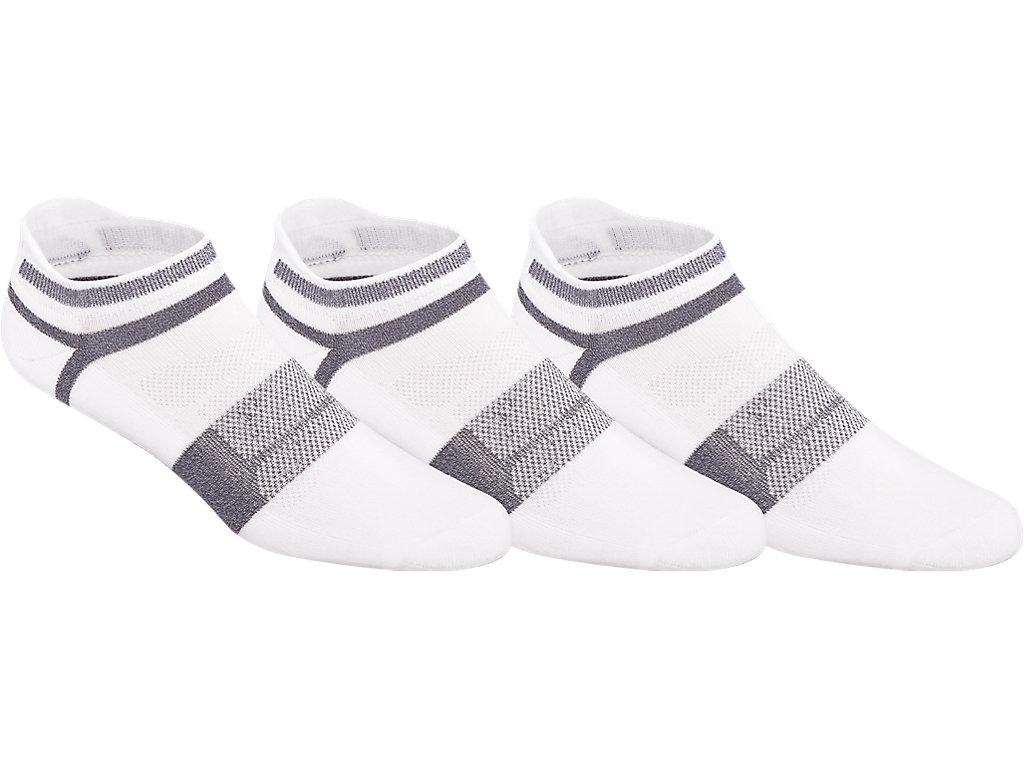 Women's Quick Lyte Cushion Single Tab (3 Pack) | White/Grey ...
